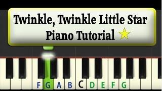getlinkyoutube.com-Easy Piano Tutorial: Twinkle Twinkle Little Star