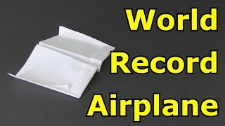 getlinkyoutube.com-How to Make the Longest Flying Paper Airplane in the World