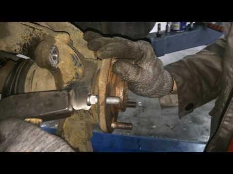 Замена шпилек без снятия ступицы Ford Mondeo 4