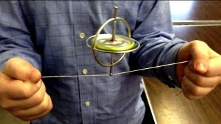 getlinkyoutube.com-Gyroscope Tricks and Physics Stunts ~ Incredible Science