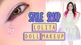 getlinkyoutube.com-Trying LOLITA for the first time   DOLL MAKEUP   STYLE SWAP  ft. RinRinDoll