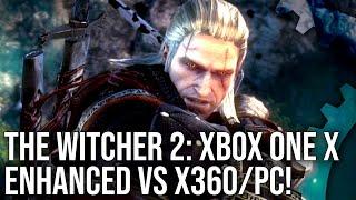 The Witcher 2 - Xbox One X vs PC vs Xbox 360 Comparison