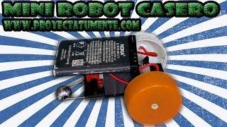 getlinkyoutube.com-Robot Casero Con Batería de celular (promo)