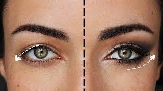 getlinkyoutube.com-How To Lift Droopy Eyes: The Ultimate Cat Eye  | MakeupAndArtFreak