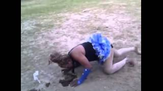 getlinkyoutube.com-Backflipping At The Rodeo Results In Smelly Fail