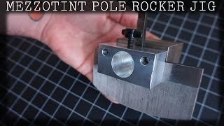getlinkyoutube.com-New Mezzotint Printmaking rocker Jig plus Sharpening demo