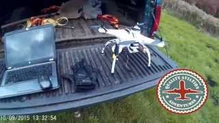 getlinkyoutube.com-1.2 mile UAS Quadcopter drone long distance run flight - May Township / Stillwater, Minnesota (2015)