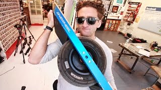 getlinkyoutube.com-Go-Kart Wheel HOVERBOARD