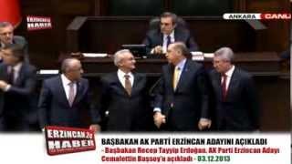 Başbakan Erdoğan, Erzincan Adayı Cemalettin Başsoy'u Açıkladı