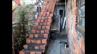getlinkyoutube.com-Escada simples com sobra de material de construção-Cavalcante, Ronaldo F