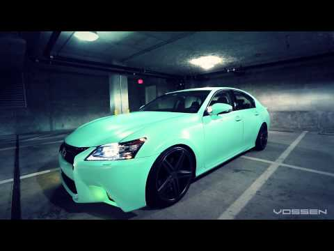 Lexus GS350 on 20'' Vossen VVS-CV5 Concave Wheels | Rims