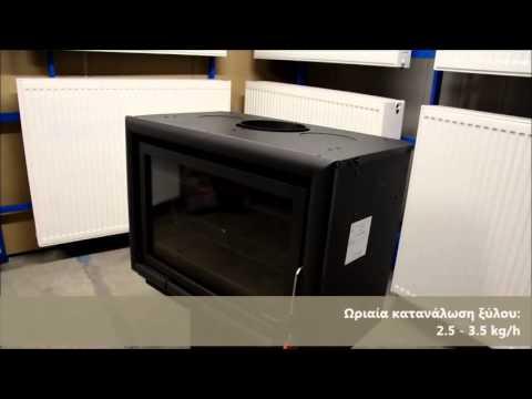 Κασέτα PALAZZETTI Αερόθερμη (Mod.Ecopalex 78 Ventilato)