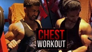 getlinkyoutube.com-MELATIH DADA SAMPAI MELEDAK | Chest Workout