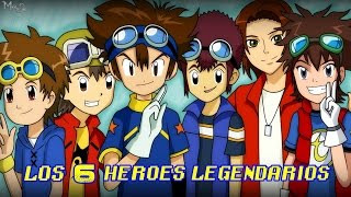 getlinkyoutube.com-La aparición de los héroes legendarios de Digimon - Latino y Japones . Digimon Xros Wars Hunters