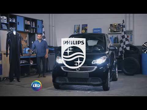 PHILIPS УЧЕБНИК - Как заменить головное освещение на вашем Smart ForTwo на светодиодные лампы
