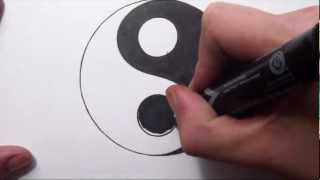 How To Draw a Yin Yang Symbol