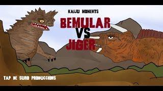 getlinkyoutube.com-BEMULAR VS JIGER KAIJU MOMENTS # 16