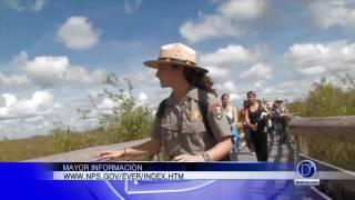 Gaby Romero visita el parque nacional Everglades. Habló con María Thomson