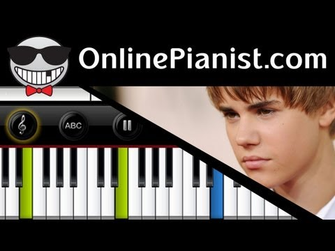 Justin Bieber - Prayer Piano Tutorial Video
