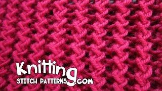 getlinkyoutube.com-Zig Zag Rib Stitch