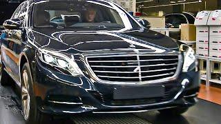 getlinkyoutube.com-2014 Mercedes S-Class PRODUCTION