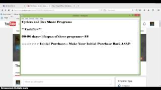 getlinkyoutube.com-How to Generate a Passive Income Online- Cyclers vs Rev Share Programs and What to Expect