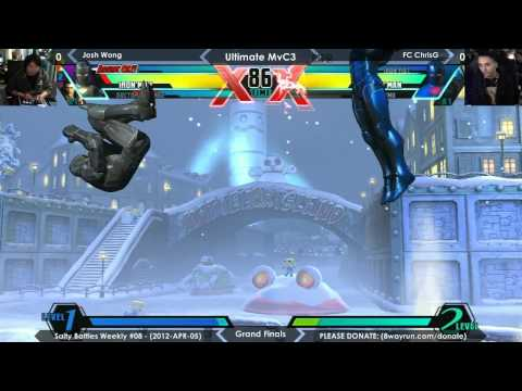 Salty Battles Weekly #08 - UMvC3 GF - Josh Wong VS FC ChrisG
