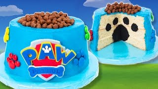 getlinkyoutube.com-How to Make a Paw Patrol Cake from Cookies Cupcakes and Cardio