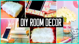 getlinkyoutube.com-DIY ROOM DECOR! Recycling projects | Cheap & cute ideas! Organization