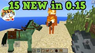 getlinkyoutube.com-Pocket Edition 15 BEST Features in 0.15.0 - Minecraft PE Update
