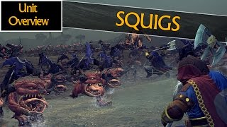 getlinkyoutube.com-SQUIGS HERD & SQUIG HOPPERS - Unit Overview - Total War: Warhammer