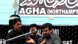Rutbey Na Puch Malang De - Zakir Qazi Waseem Abbas - Northampton (UK) 2011