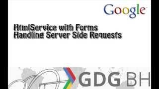 Google Apps Script 02 - Integrating HTMLService with HTML via JavaScript