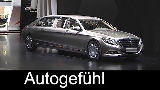 getlinkyoutube.com-All-new Mercedes-Maybach S600 Pullman reveal by Daimler CEO - Autogefühl