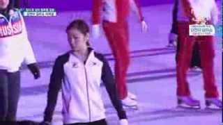 KIM YUNA Figure skating Gala show Finale Rehearsal 2/2