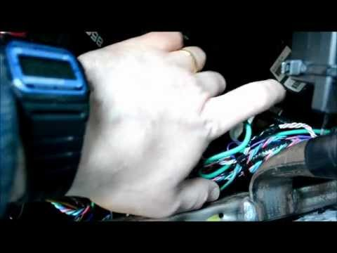 Car alarm How To - Repair or remove a starter kill disable