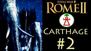 "getlinkyoutube.com-Total War: Rome 2 - Carthage Campaign (Legendary) - Part 2: ""Qart Hadashi"""