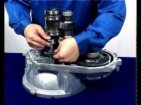 Расположение сальника двигателя в Чере А19