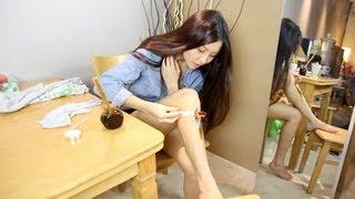getlinkyoutube.com-DIY Cheap & Easy Hair Removal Wax   cathylulu