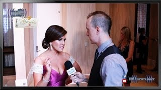 Robin Meade on inDtv @ The Gracies 2014