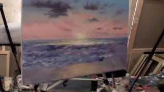 getlinkyoutube.com-ПОЛНЫЕ ВИДЕО ИГОРЯ САХАРОВА! Морской пейзаж. Мастер класс Игоря Сахарова.