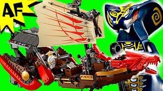 getlinkyoutube.com-Lego Ninjago DESTINY's BOUNTY Ship 9446 Stop Motion Set Review