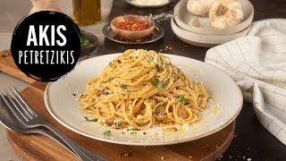 getlinkyoutube.com-Spaghetti Aglio e Olio | Akis Kitchen