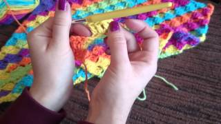 getlinkyoutube.com-C2C Corner to Corner Crochet Blanket Tutorial