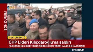 SON DAKİKA! Kemal Kılıçdaroğlu Ankara'da şehit cenazesinde saldırıya uğradı