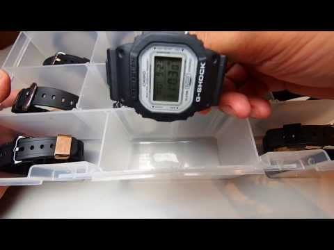Casio G Shocks collector box set for DW and GW 5XXX series collection