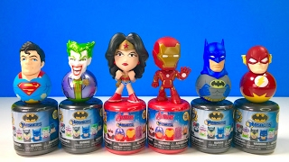 Batman and Avengers New Mashems! Wonder Woman, Joker, Harley Quinn
