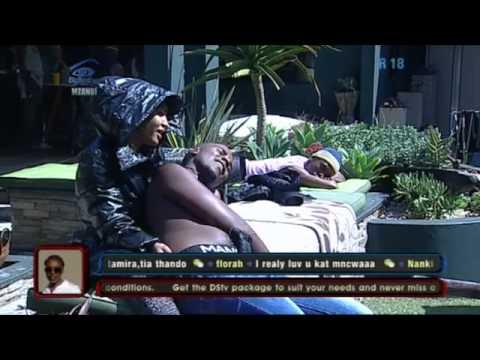 Big Brother Mzansi- Intimate moment