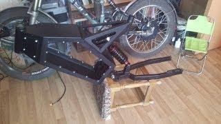 getlinkyoutube.com-How to build e-bike in 7 days: DayOne - Frame