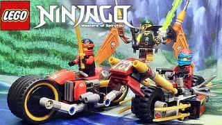 getlinkyoutube.com-레고 닌자고 닌자 바이크 추격전 70600 스카이해적 오토바이 조립 리뷰 Lego ninjago Ninja Bike Chase 2016 신제품